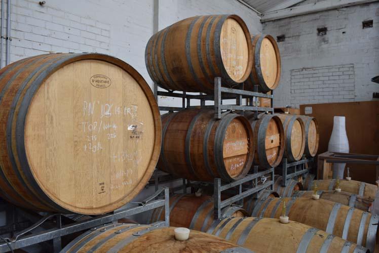 hope charity Tilbrook Estate Barrels of Wine