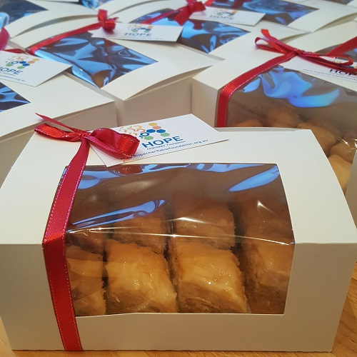 Hope Charitable Foundation - Sweets for Syria Fundraiser - Baklawa 500