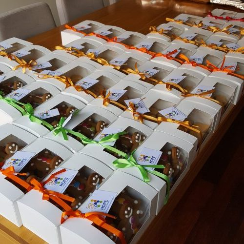 Hope Charitable Foundation Sweets for Syria Fundraiser deliveries