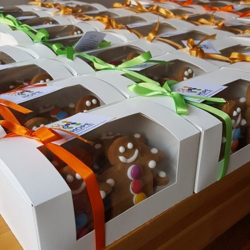 Hope Charitable Foundation Sweets for Syria Fundraiser gift boxes